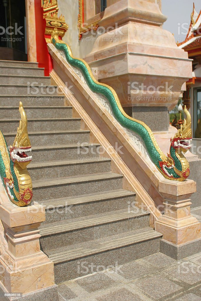 Wat Chalong Temple in Phuket, Thailand royalty-free stock photo