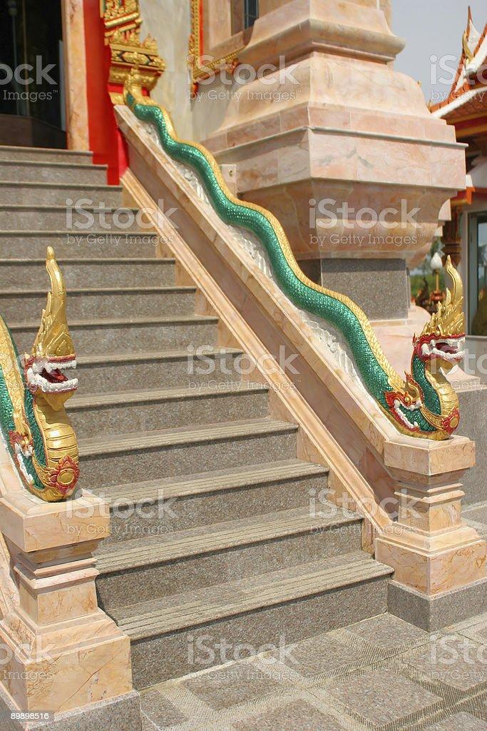 Tempio di Wat Chalong a Phuket, Tailandia foto stock royalty-free