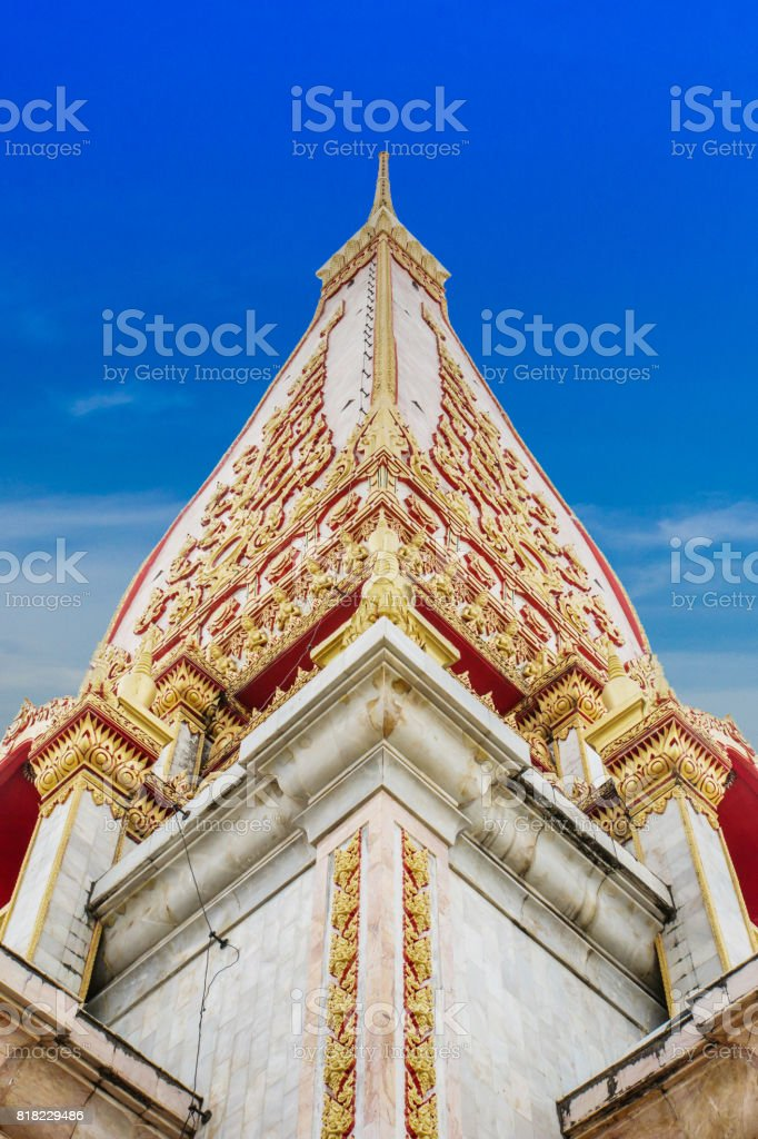 Wat Chalong, Thailand stock photo