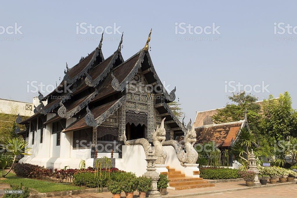 Wat Chedi Luang / Chiang mai royalty-free stock photo