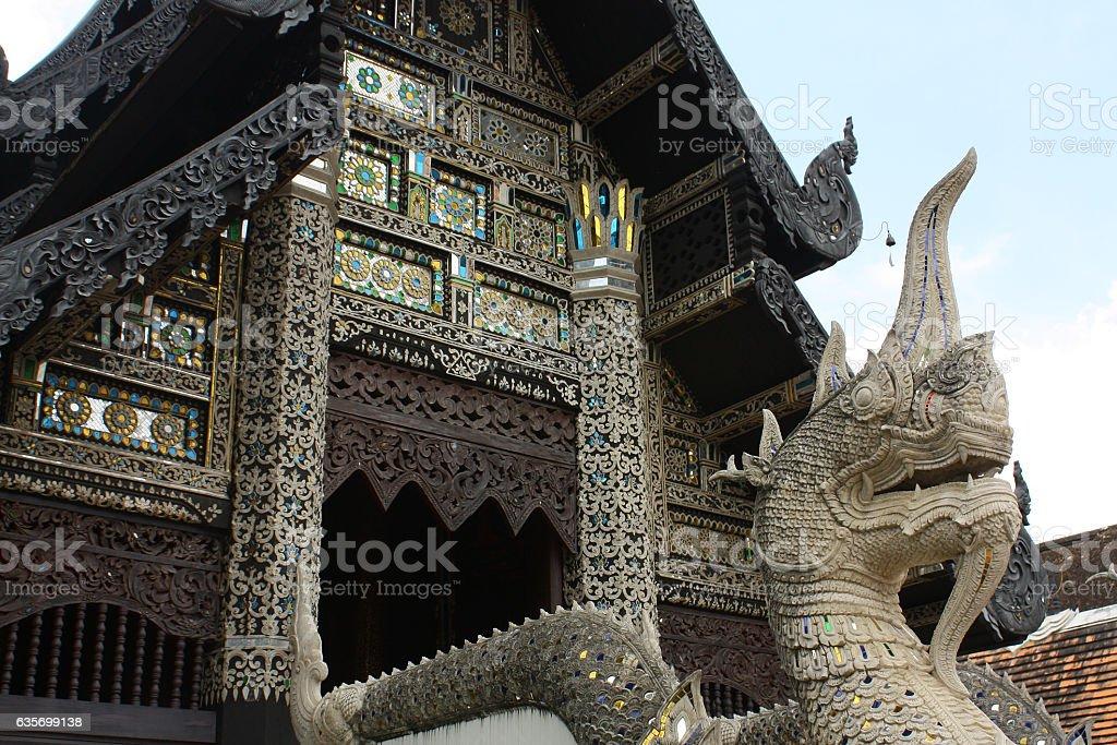 Wat Chedi Luang, Chiang Mai,Thailand royalty-free stock photo