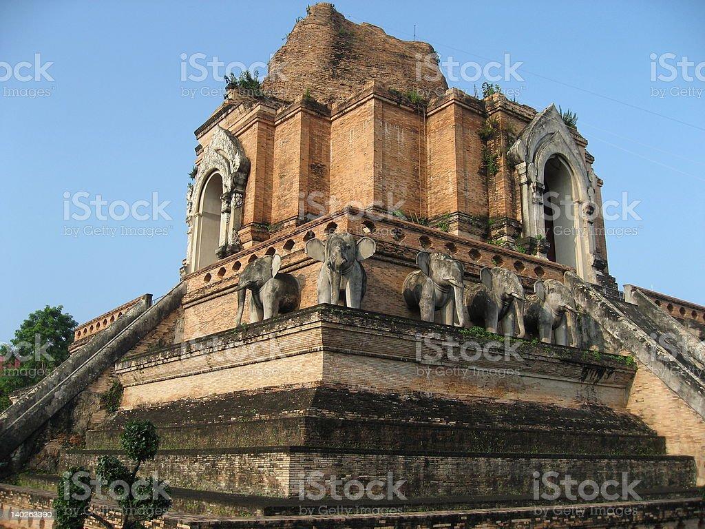 Wat Chedi Luang Varaviharn stock photo