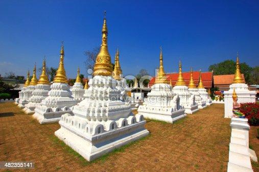 The 20 pagonda at Lampang city..
