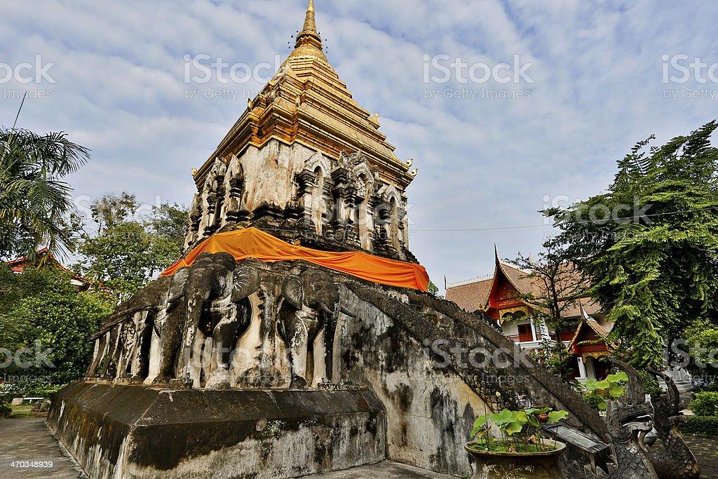 Wat Chiang Man royalty-free stock photo