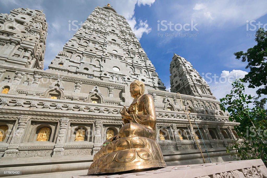 Wat Chong Kham Lampang stock photo