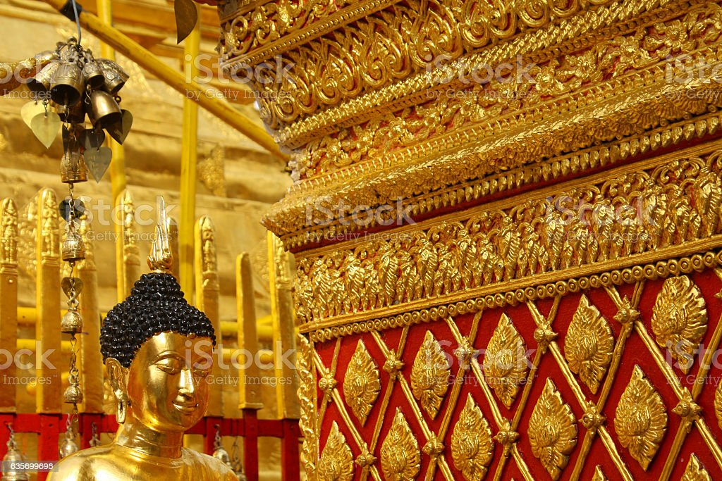 Wat Doi Suthep, Chiang Mai, Thailand royalty-free stock photo