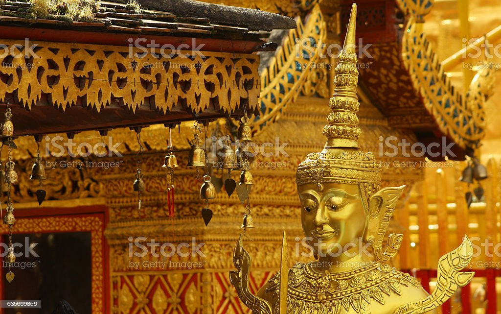 Wat Doi Suthep, Chiang Mai, Thailand royalty-free stock photo