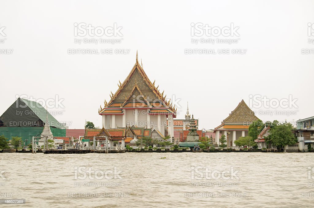 Wat Kalayanamitr, Bangkok royalty-free stock photo
