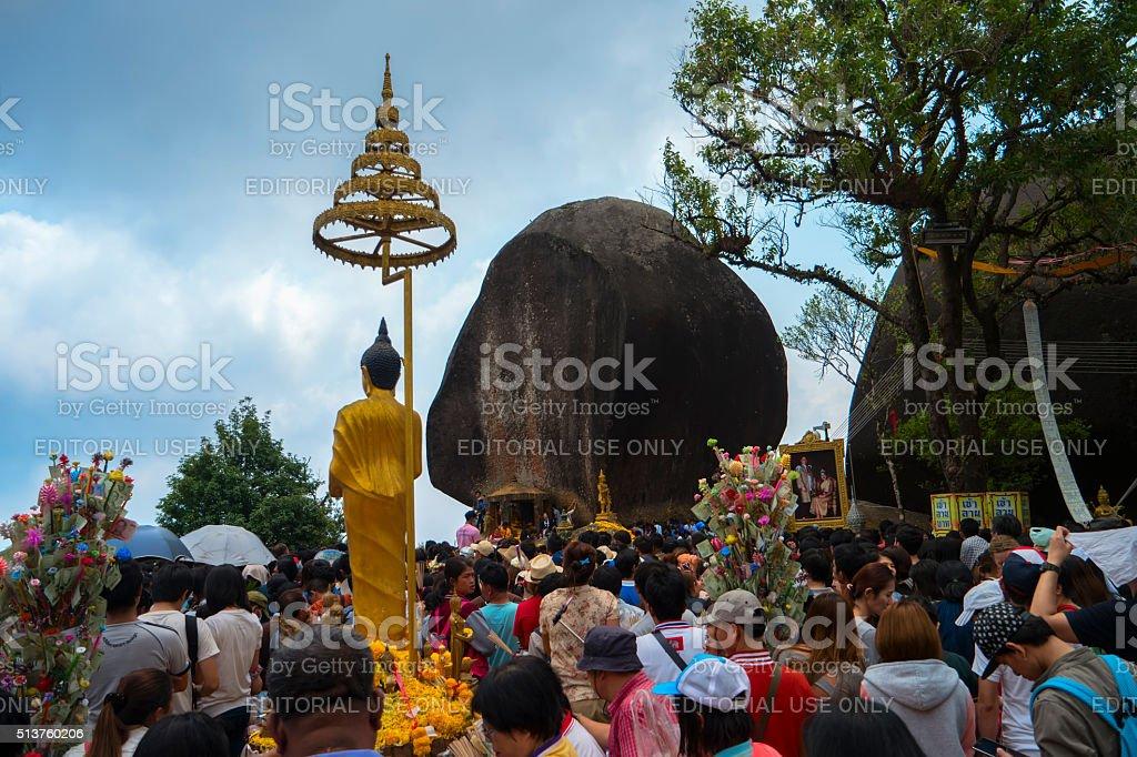 Wat Khao Khitchakut Phawanaram stock photo