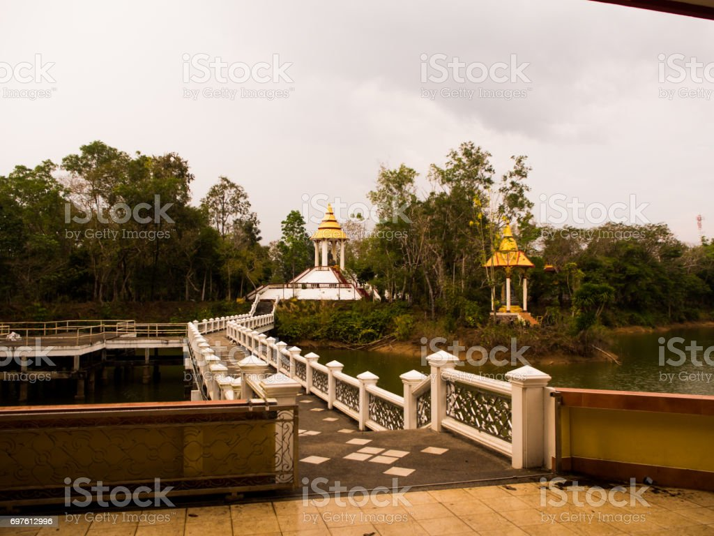 wat khao sukim chanthaburi, Thailand stock photo