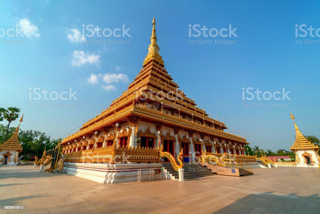 Wat Nong Wang temple in Khon Kaen,Thailand. - Royalty-free Ancient Stock Photo