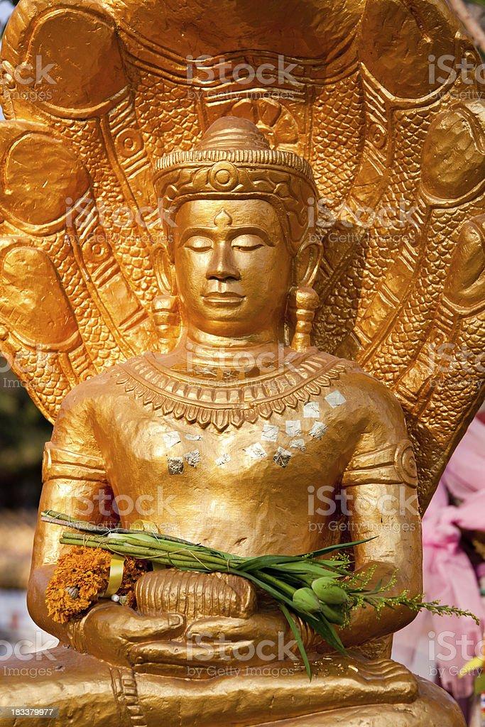Wat Nongwang in Khon Kaen, Thailand stock photo
