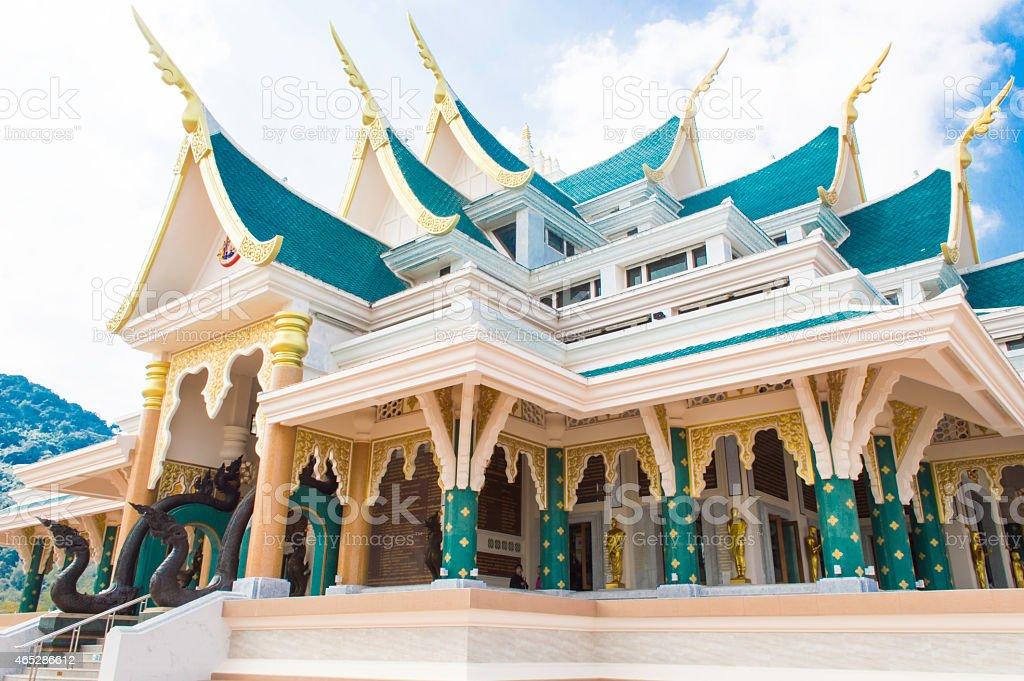 Wat Pa Phu Kon in Northeast stock photo