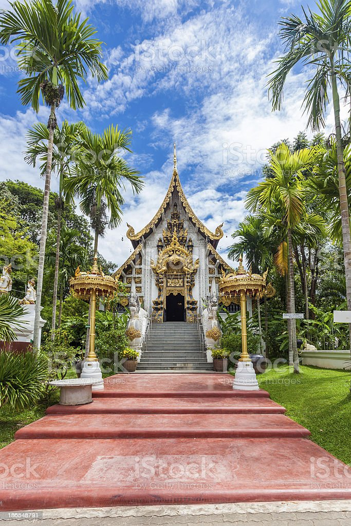 wat pha dara bhi rom Temple located in the western royalty-free stock photo