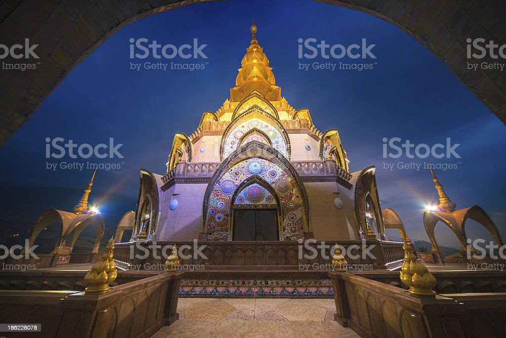 wat pha soin keaw temple royalty-free stock photo