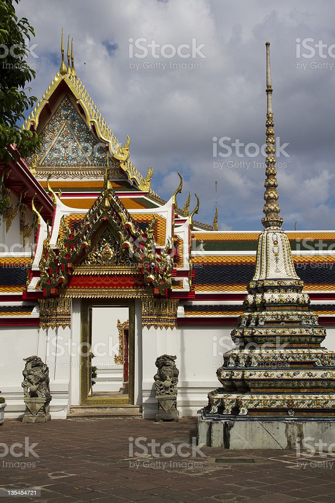 Wat Pho, Bangkok royalty-free stock photo