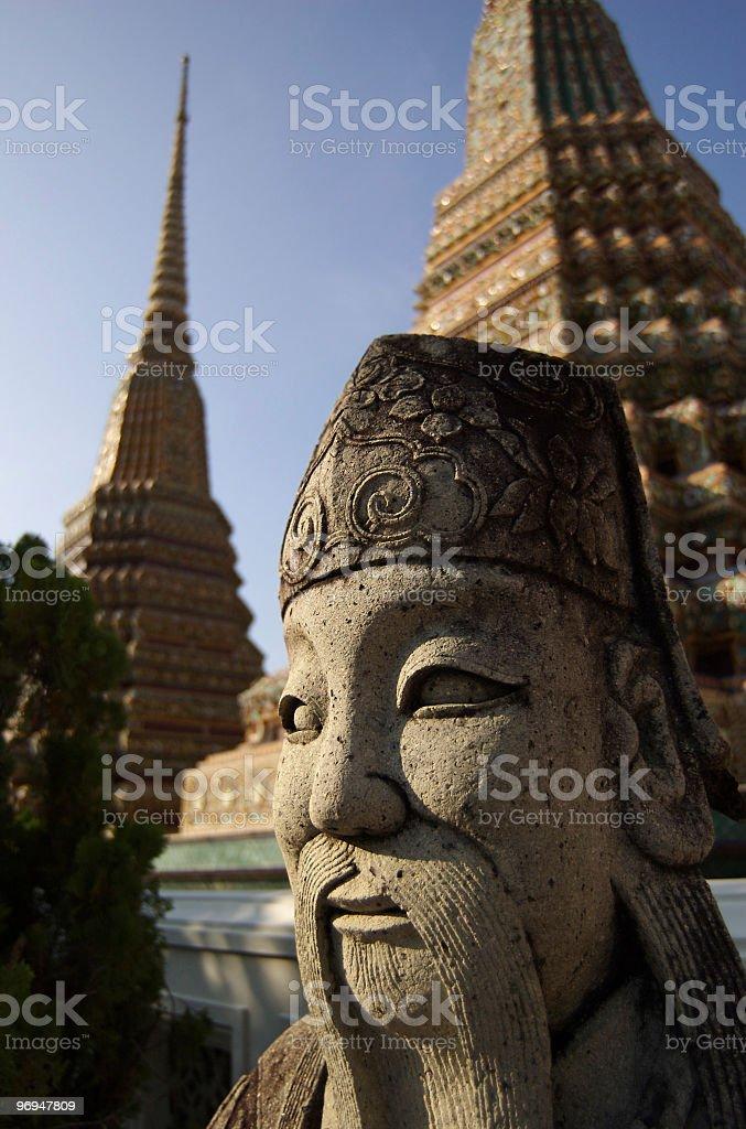Wat Pho, Bangkok, Thailand royalty-free stock photo