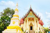 Wat Pho Chai buddhist temple is where Luangpho Phra Sai, Landmark in  Nong Khai Thailand.