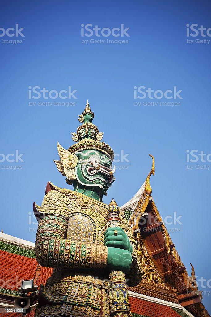 Wat Pho Guardian royalty-free stock photo