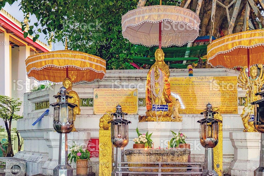 Wat Pho public temple, Bangkok, Thailand. foto de stock royalty-free