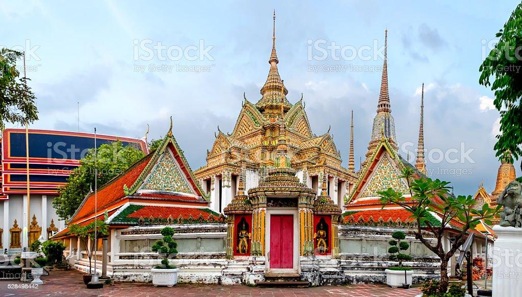 Wat Pho Temple In Bangkok Thailand Stock Photo & More