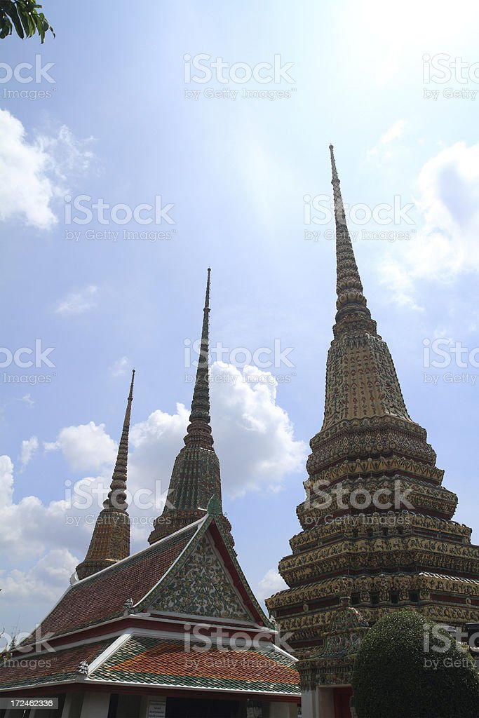 Wat Pho Temple royalty-free stock photo
