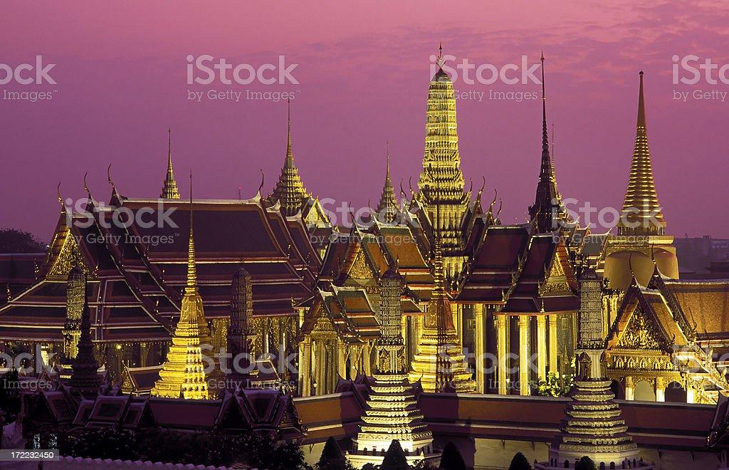 wat phra kaeo bangkok thailand royalty-free stock photo