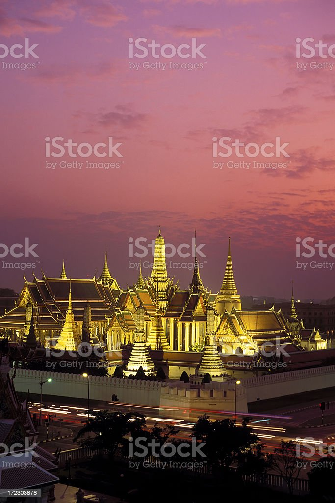 wat phra kaeo bangkok thailand stock photo
