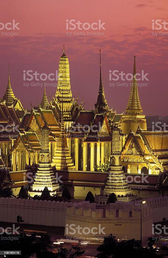 wat phra kaeo grand palace bangkok thailand stock photo