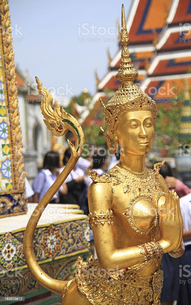 Wat Phra Kaeo Statue royalty-free stock photo
