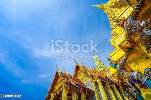 Bangkok, Thailand, Asia, Southeast Asia, Wat Phra Kaeo