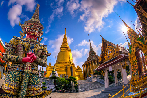 istock Wat Phra Kaew, Bangkok, Thailand 547216392
