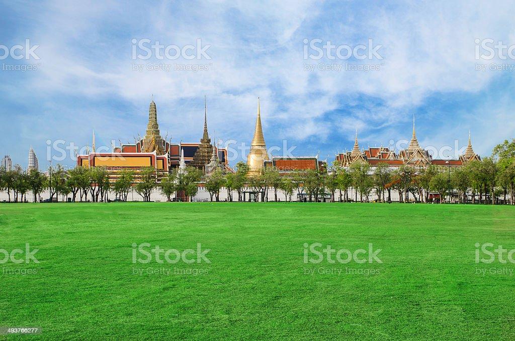 Wat phra kaew, Grand palace, Bangkok, Thailand stock photo