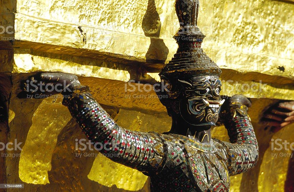 Wat Phra Kaew royalty-free stock photo