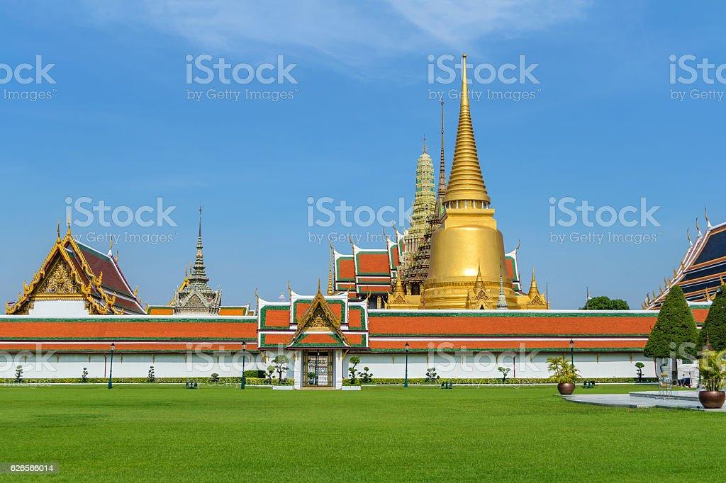 Wat Phra Kaew Temple, Bangkok, Thailand stock photo