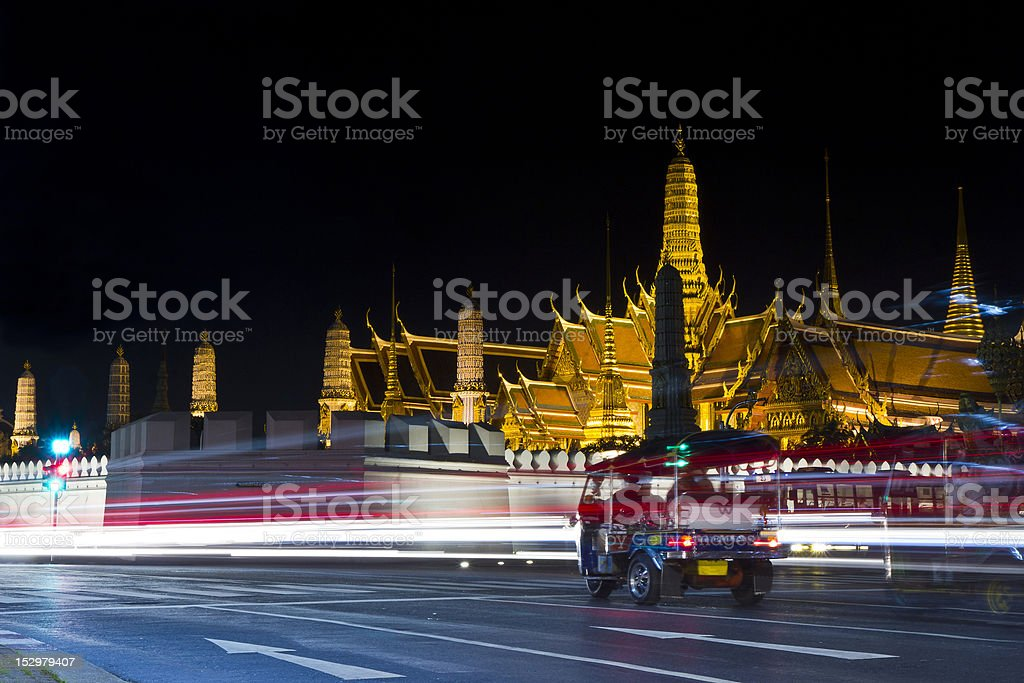 wat phra keo, bangkok royalty-free stock photo