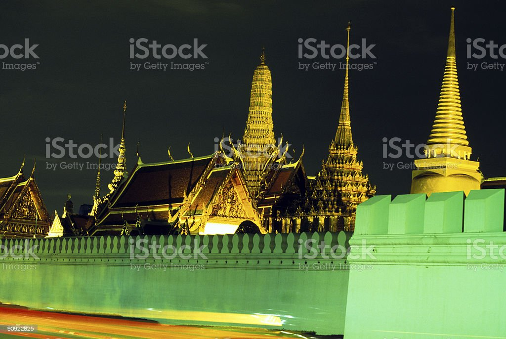Wat Phra Keo, Bangkok, Thailand stock photo