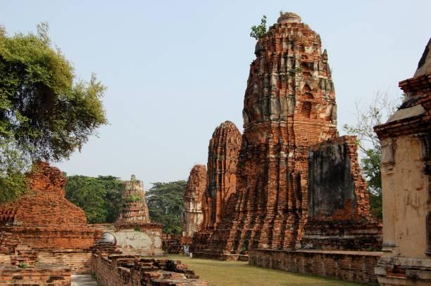 Wat Phra MahaThat temple, Ayutthaya, Thailand stock photo