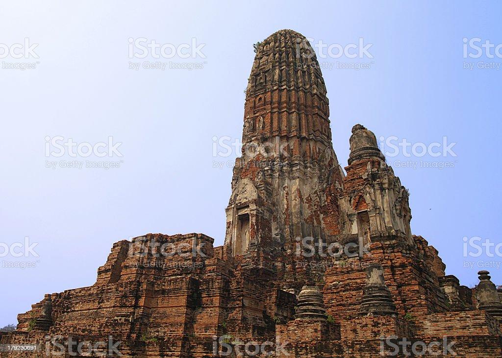 Wat Phra Ram - Ayutthaya royalty-free stock photo
