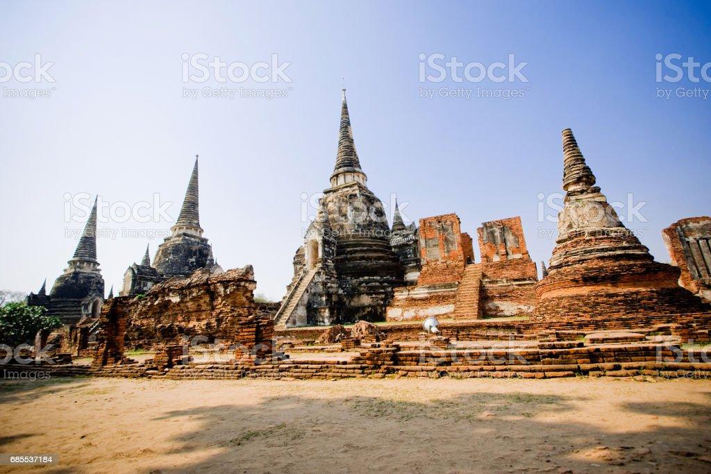 Wat Phra Si Sanphet 免版稅 stock photo