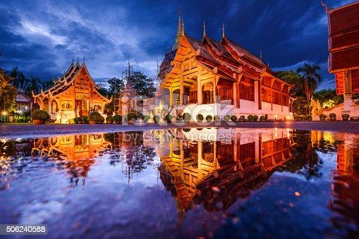 istock Wat Phra Singh in Chiang Mai 506240588