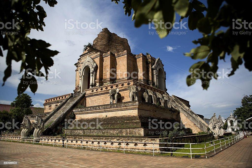 Wat Phra Singh royalty-free stock photo