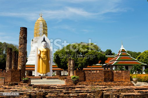 Wat Phra Si Rattana Mahathat also colloquially referred to as Wat Yai is a Buddhist temple (wat) in Phitsanulok Province, Thailand, where it is located on the bank of the Nan River near Naresuan Bridge.