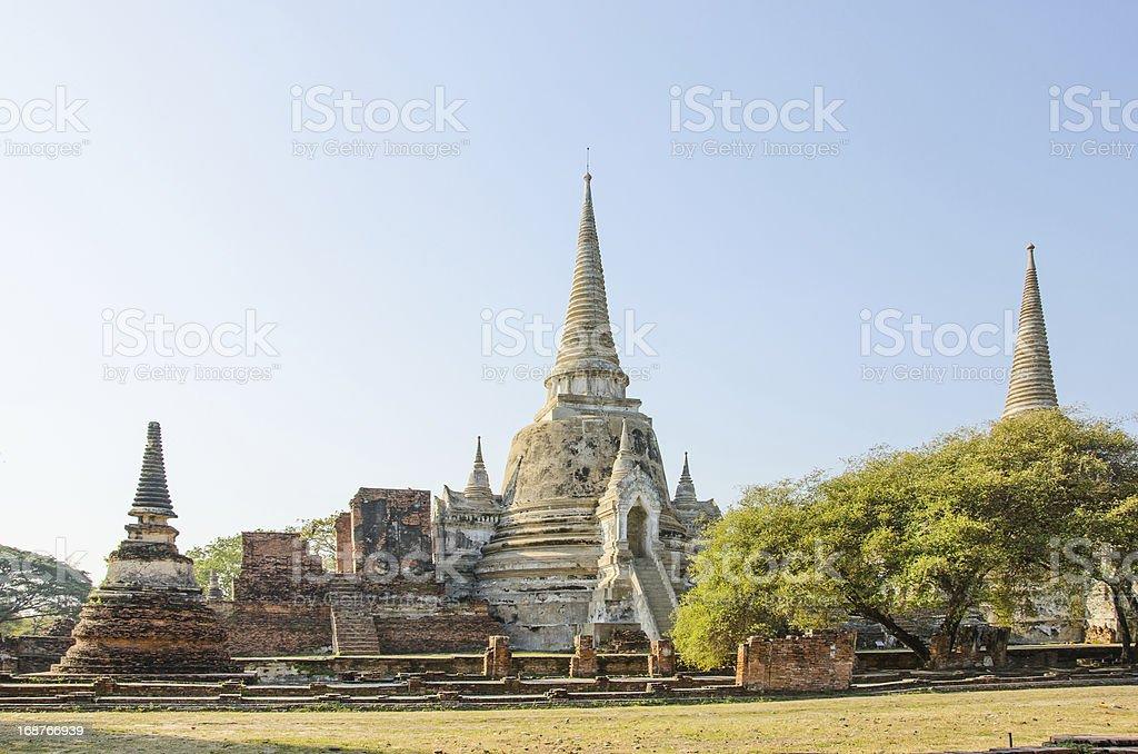 Wat Phra Sri Sanphet royalty-free stock photo