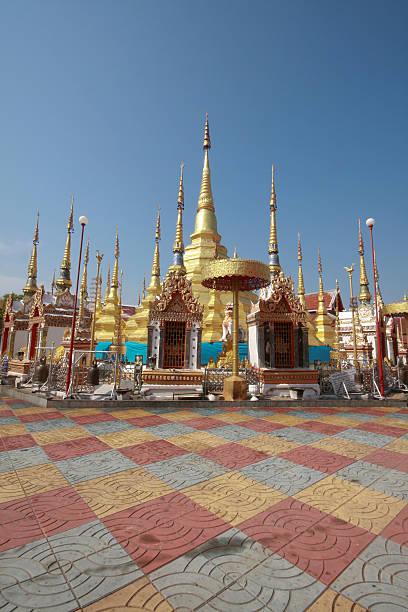 Wat Phra That Ban Tak stock photo