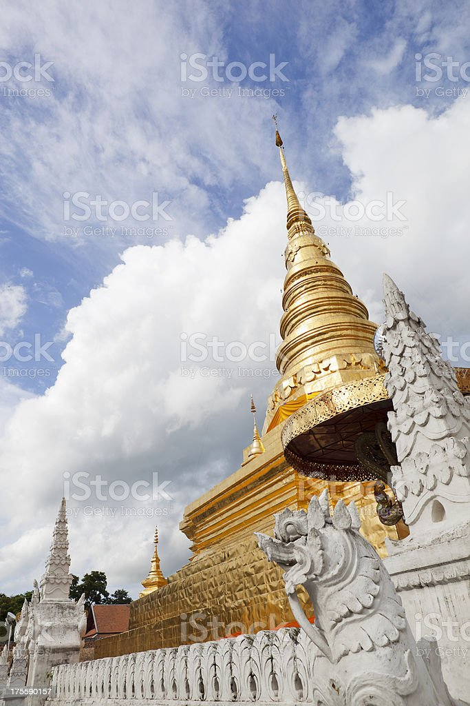 Wat Phra That Chae Haeng, Nan. royalty-free stock photo