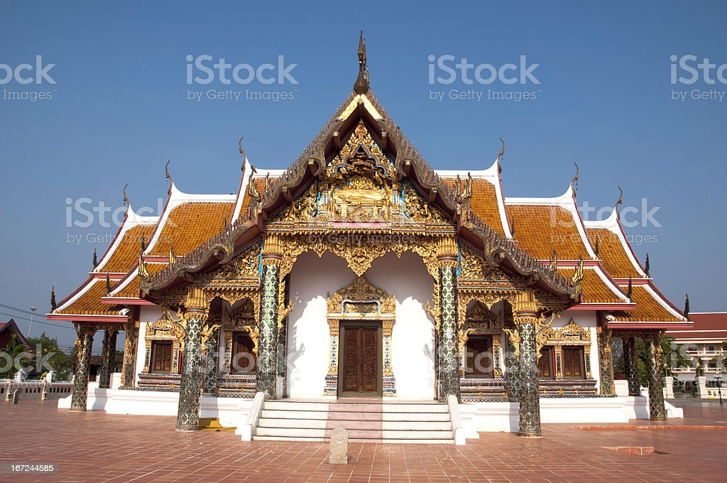 Wat Phra That Choeng Chum royalty-free stock photo