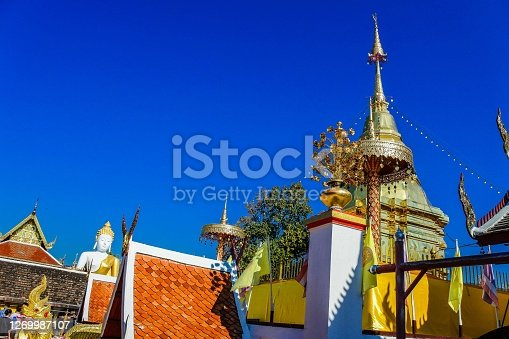 Wat Phra That Doi Kham, Chiang Mai , Thailand