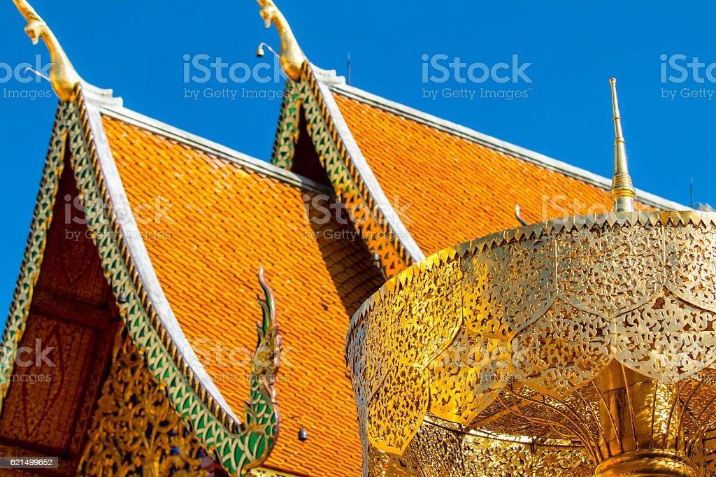 Wat Phra That Doi Suthep Thailand Lizenzfreies stock-foto