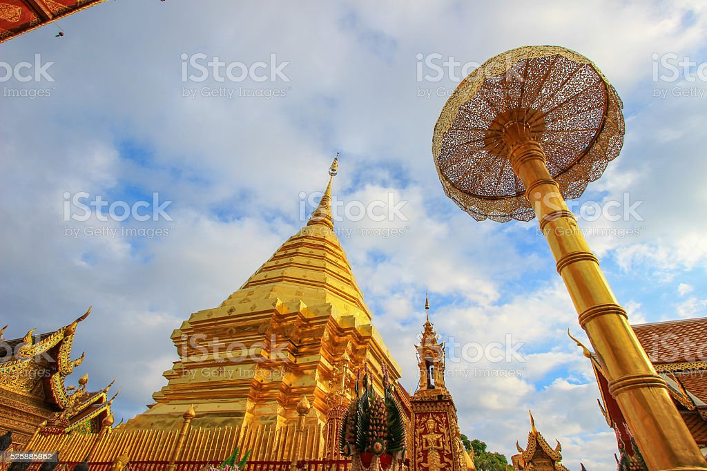 Wat Phra That Doi Suthep,Chiang Mai Province,northern Thailand. stock photo